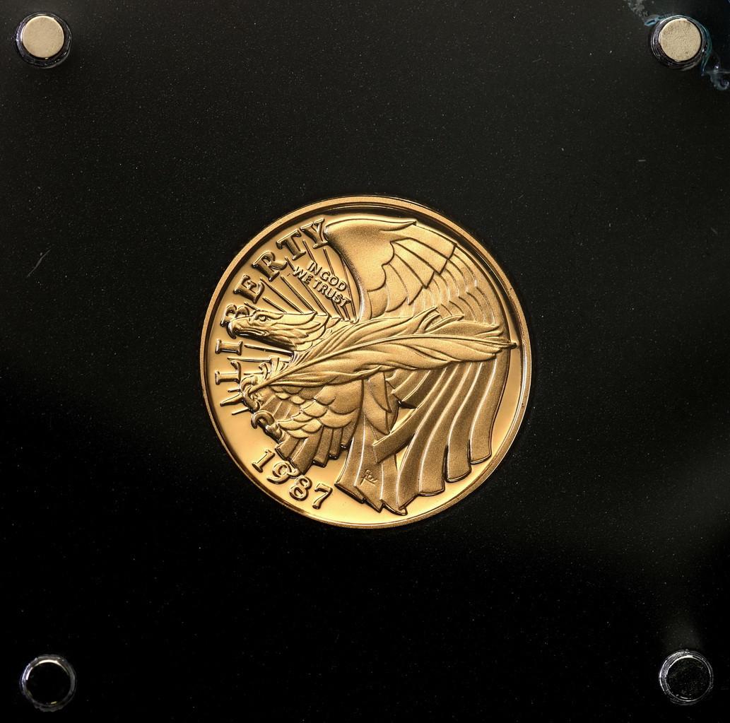 USA 5 dolarów 1987 Konstytucja st.L