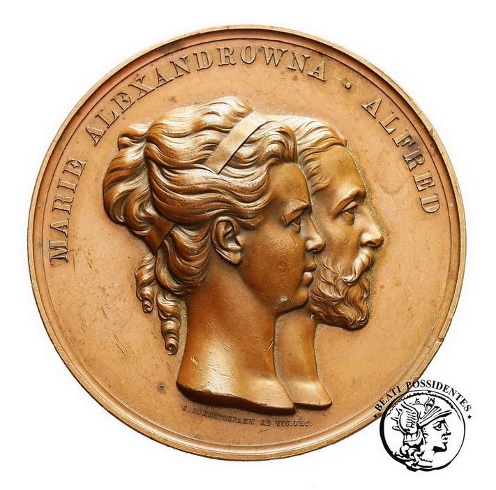 Rosja medal 1874 brąz
