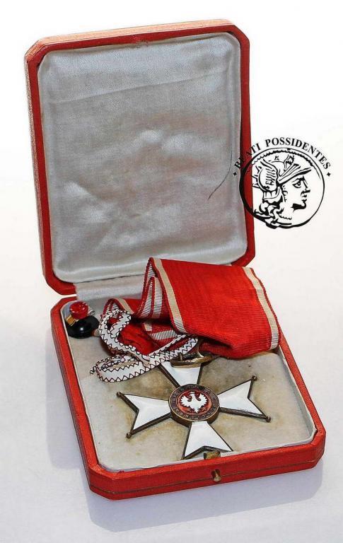 Polska II RP Krzyż Orderu Polonia Restituta III klasy